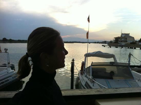Meson El Cura : Coucher de Soleil en terrasse