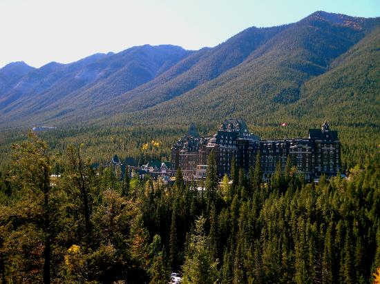 Fairmont Banff Springs: Vista del hotel