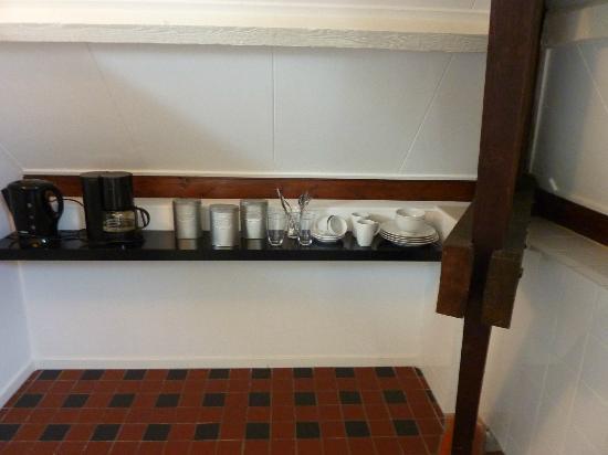 B&B Alberti : free coffee, tea, soup and chocolate
