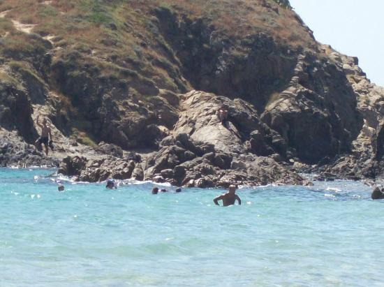 Area Marina Protetta Capo Carbonara : punta is molentis