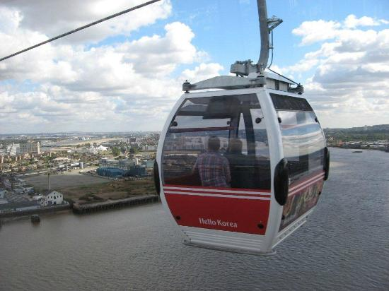Imperial Hotel: View from the new Emirates Cable Line