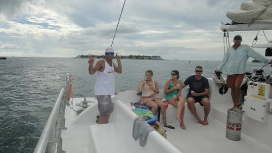 Sebago Key West : Jim dancing!