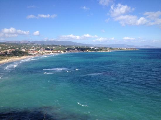 Tsilivi Beach Hotel: view of the island