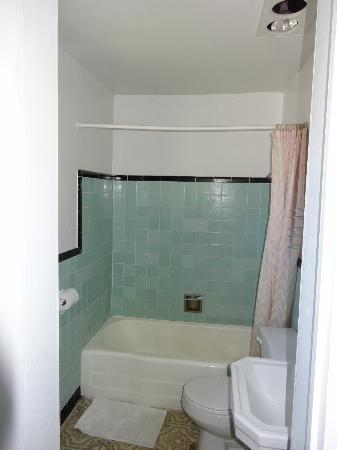Del Prado Motel: Dusche