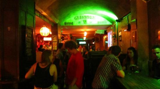 The Temple Bar: From the door