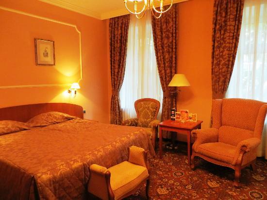 Marco Polo Presnja Hotel : Bedroom