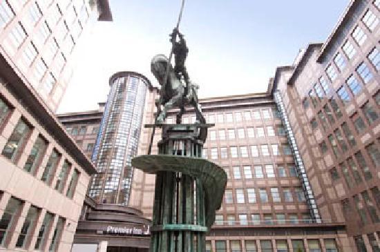 Premier Inn London Blackfriars (Fleet Street) Hotel : .