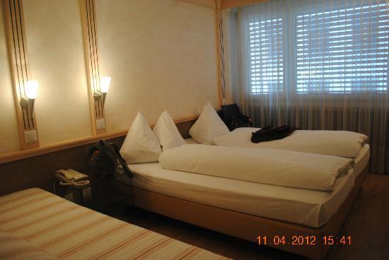 Luzernerhof Hotel: Our Room