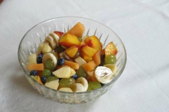 B&B Il bel Giardinetto : salade de fruits