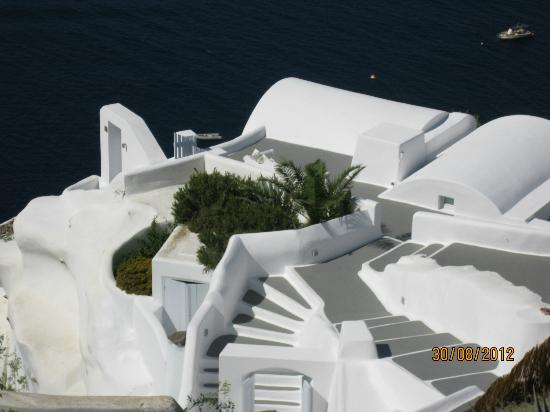 Santorini, Grecia: Awesome View from Oia