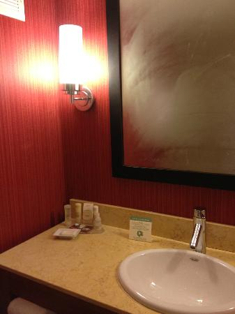 Crowne Plaza Palo Alto: Bathroom light