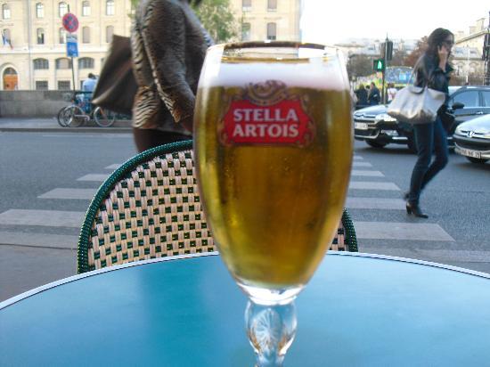 le notre dame: Stella Artois