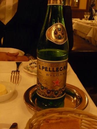 Chez Georges: サンペレグリノ
