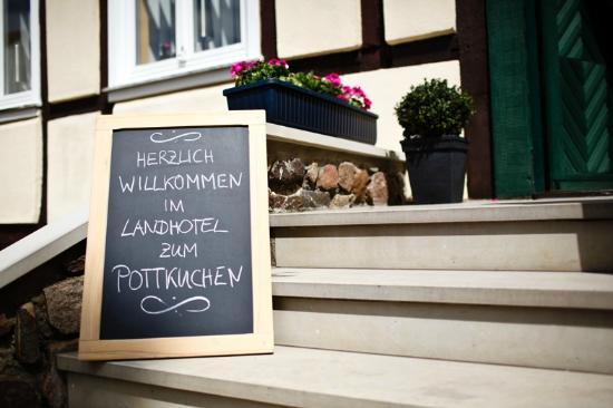 """Landhotel Zum Pottkuchen: Willkommen zum Landhotel """"Zum Pottkuchen""""!"""