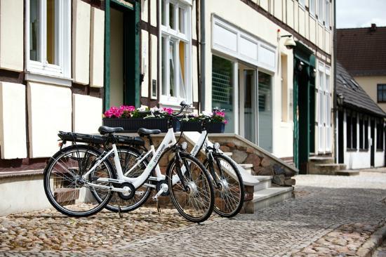 Landhotel Zum Pottkuchen: unsere E-Bikes im Verleih