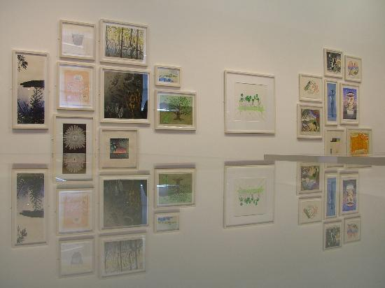 Royal Scottish Academy: Installation view of 'In Japan' exhibition 2011