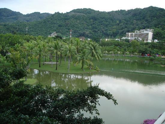 Hilton Phuket Arcadia Resort & Spa : Artificial Pond