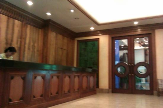 The Legend Palawan: lobby
