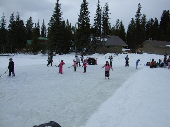 Idabel Lake Resort: Winter