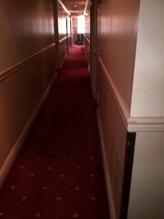 Days Inn Hotel New York City-Broadway: hall smelt of mildew