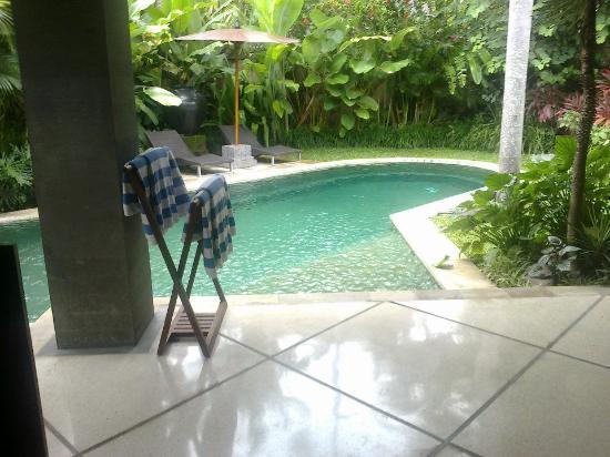 The Ahimsa: the private pool
