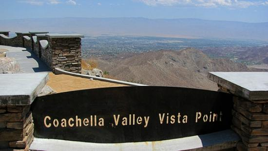 Palm Desert, Californië: Coachella Valley Vista Point