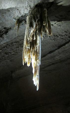 Doolin Cave : the Great Stalactite - view from another angle