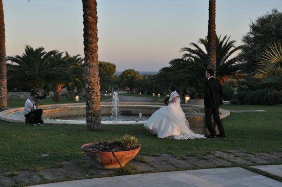 Li Surii - Oasi Mediterranea: chiusura con foto al tramonto