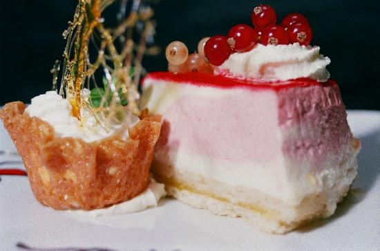 Park House Restaurant: Raspberry Cheesecake