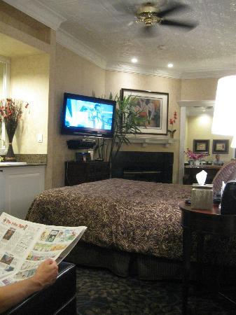 Chateau Inn & Suites: lurury parlor rm 28