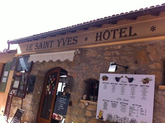 Sainte-Agnes, Frankrike: great restaurant in Saint Agnes near Menton