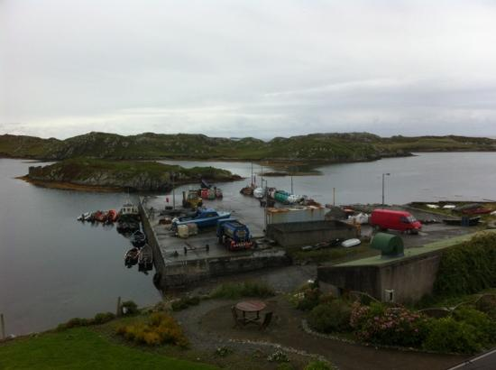 Inishbofin House Hotel & Marine Spa: view from room