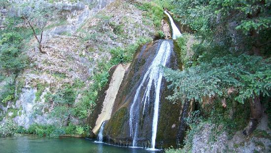 Riópar, España: Cascada de agua