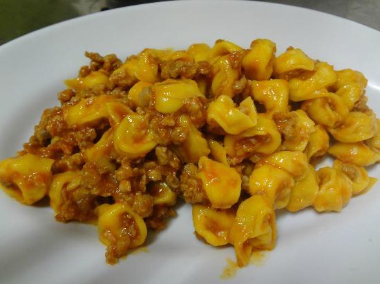 Osteria La Matta Tortellini al ragù bolognese
