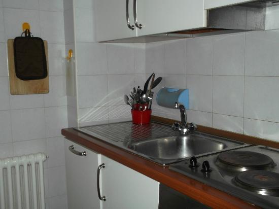 Locanda della Biscia: kitchen