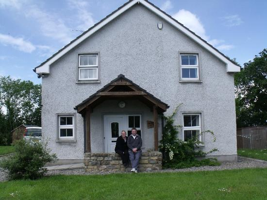 Fermanagh Lodges: Outside the lodge