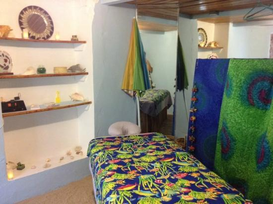 "Beach Massage and Bodywork Delivered : ""Indoor Beach"" massage room in Christiantsted"