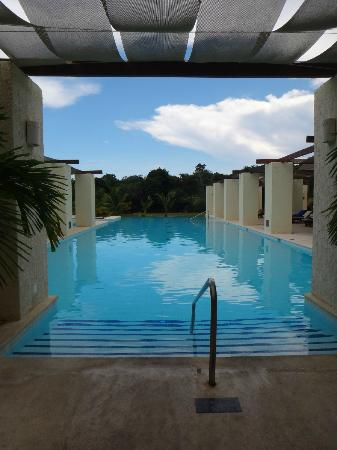 The Royal Suites Yucatan by Palladium: The Spa Pool