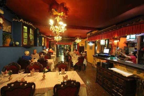 Gurkha Palace: La salle de restaurant