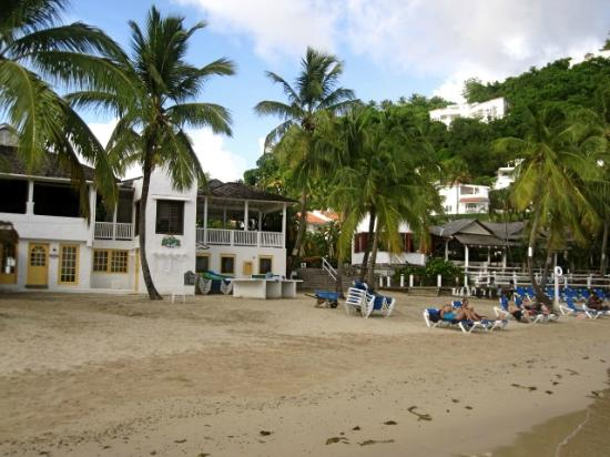 Windjammer Landing Villa Beach Resort: hotel beach