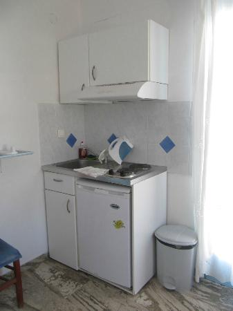 Old Town Pension: our second kitchenette