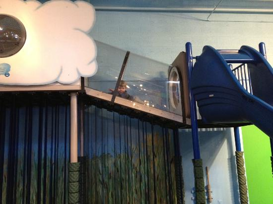 Great Lakes Children's Museum : Climbing Area, Weather/Science Theme Station