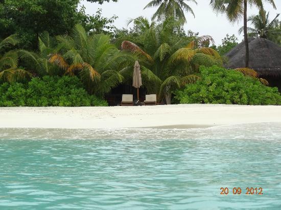 Huvafen Fushi Island: Пляж