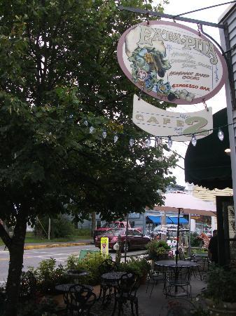 Southwest Harbor, ME: Eata-Pita sur Main Street