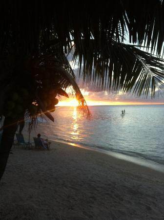 Hilton Moorea Lagoon Resort & Spa: Sunset