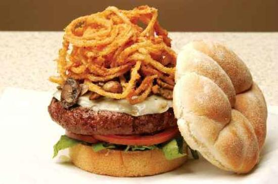 The Bird in Hand: their gourmet burger