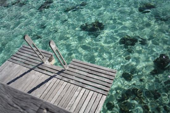 Hilton Moorea Lagoon Resort & Spa: Lower deck