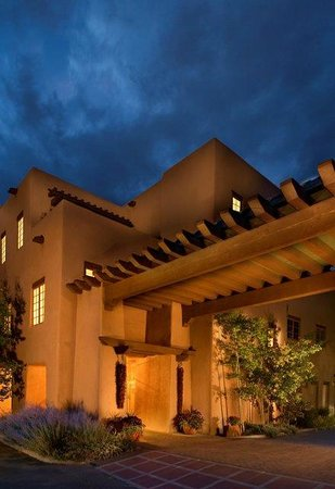 The Hacienda and Spa at Hotel Santa Fe : Hacienda Entrance