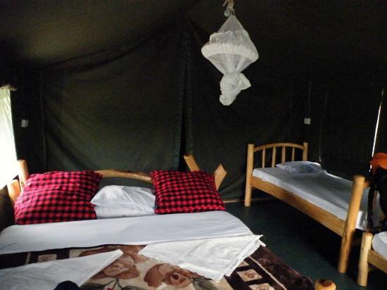 Mara Sidai Camp: habitación