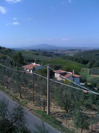Villa Le Torri: Your morning view from the kitchen or unit 2 rooms